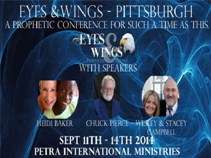 Eyes and Wings Pittsburgh Prophetic Conference MP4 Data Disk