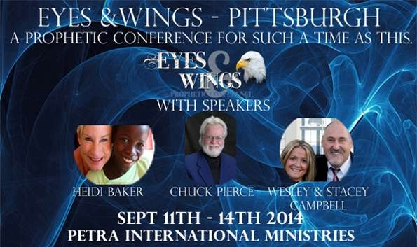 Eyes and Wings Webstream: Heidi Baker-Chuck Pierce-Wesley
