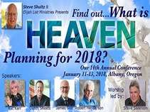 What is Heaven Planning for 2018? Combo 3 - Live Web Stream Plus Replays Plus MP3 Audio Data Disk