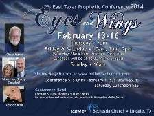 8 DVD Set Eyes and Wings East Texas Prophetic Conference