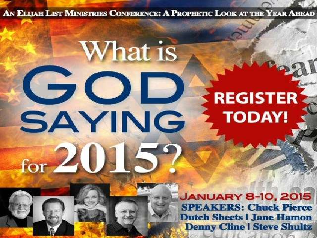 What is God Saying for 2015? CD Set