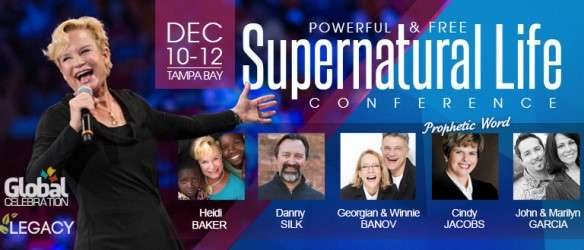 Recordings from the Powerful and Free Supernatural Life Conference