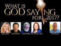 What is God saying for 2017? MP3 Audio Data Disk